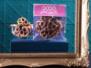 2020 You Suck Chocolate Pretzels 100g