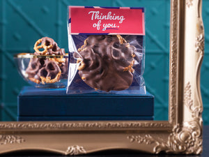 Thinking Of You Chocolate Pretzels 100g