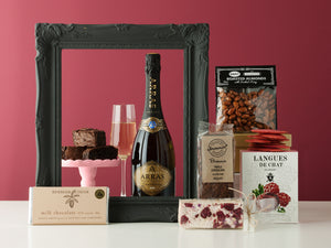 Valentine's Day Golden Sparkles Hamper