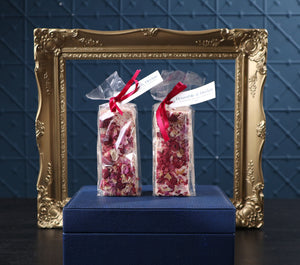 Bramble & Hedge Raspberry & Vanilla Bean Nougat - 150g