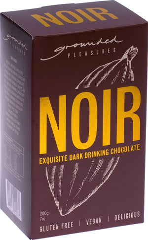 Grounded Pleasures NOIR (Dark) Drinking Chocolate 200g