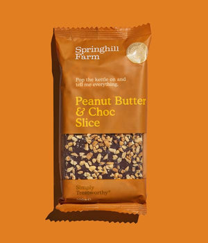 Springhill Farm Peanut Butter and Choc 200g