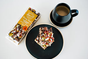 Bellarine Brownie Turkish Delight & Pistachio Rocky Road, 250g
