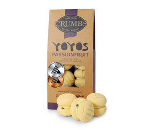 Crumbs Passionfruit YoYo 150g pack