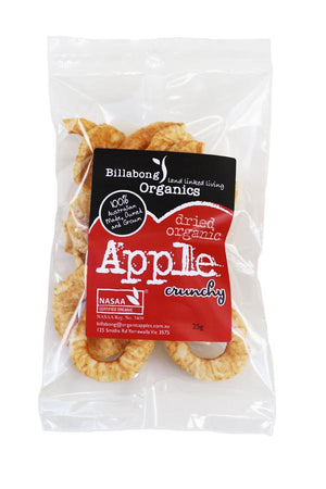 Billabong Organic Crunchy Apple 25g