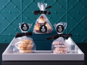The Food Purveyor Almond Amaretti 80g and The Food Purveyor Coconut & Dark Chocolate Macaroons 80g