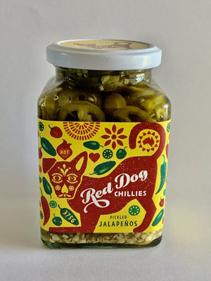 Red Dog Chillies Pickled Jalapeños - 375g