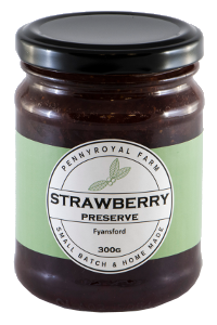 Pennyroyal Farm Strawberry Jam 300g