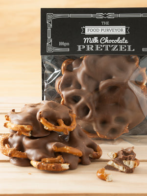 Chocolate Coated Pretzels 100g x 6 plus chiller bag