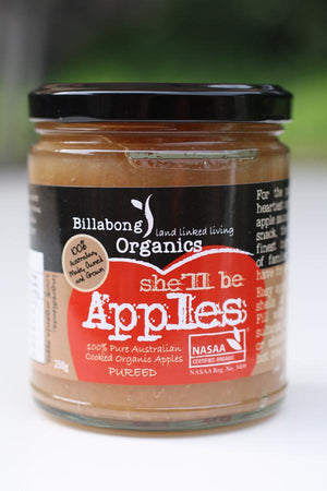 Billabong Organics Apple Puree 250g