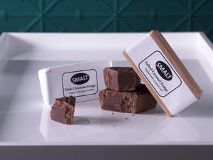 Smalt Dark Chocolate & Coffee Fudge Bar 120g
