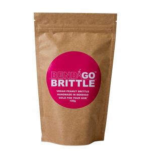 Bendigo Brittle 100g Vegan Peanut Brittle