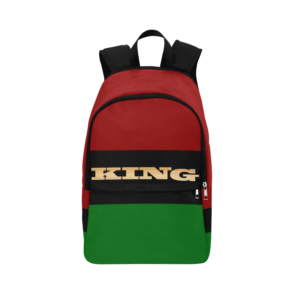 KING RBG Fabric Backpack for Adult