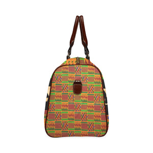 Queen Kente Waterproof Travel Bag/Large