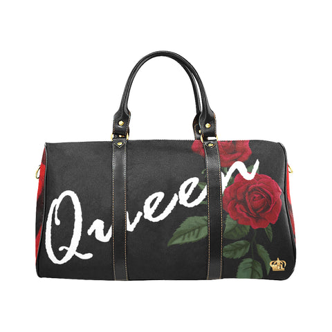 Queen Rose New Waterproof Travel Bag/Large - Kingdom of Melanin