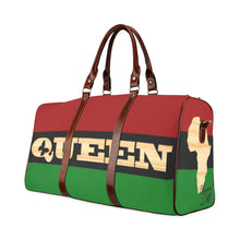 Load image into Gallery viewer, Queen RBG flag Waterproof Travel Bag/Large