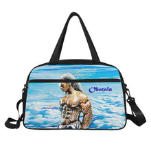 Load image into Gallery viewer, Obatala Sky Fitness Handbag - Kingdom of Melanin