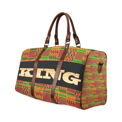 King Kente Waterproof Travel Bag/Large