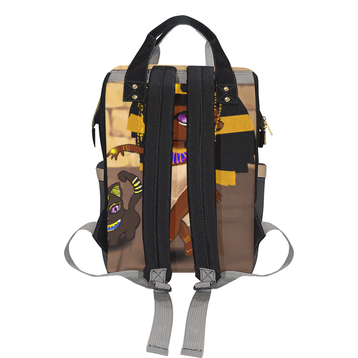 Cleopatra Multi-Function Diaper Backpack