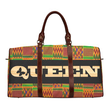 Load image into Gallery viewer, Queen Kente Waterproof Travel Bag/Large