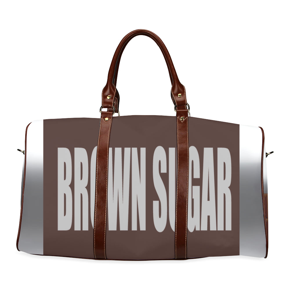 Brown Sugar Large Waterproof Travel Bag/Large