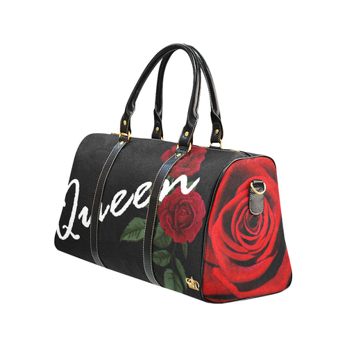 Queen Rose New Waterproof Travel Bag/Large