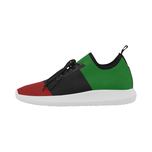 Red Black Green Light Sport Shoes for Women