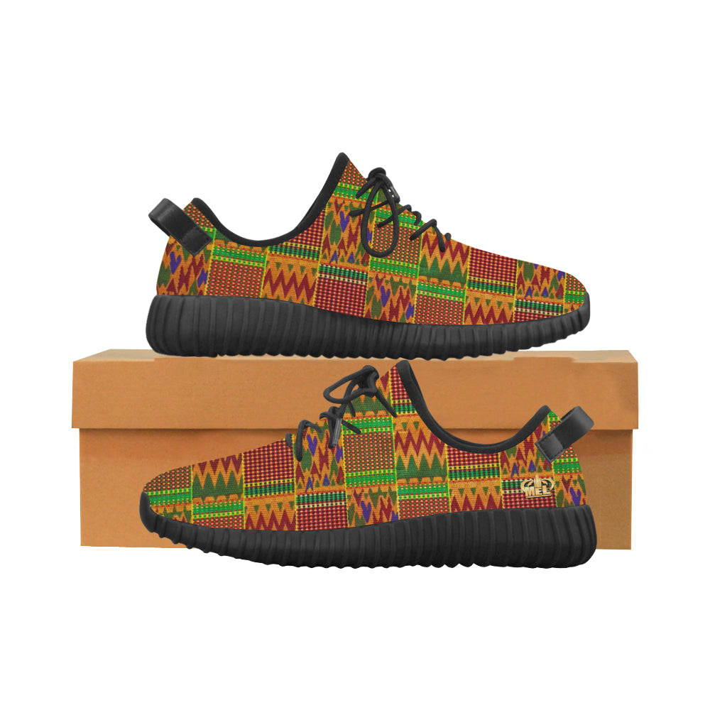 Kente Blk Women's Shoes (size info.)