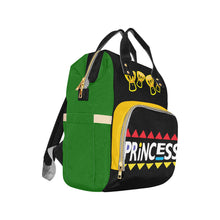 Load image into Gallery viewer, Multi-Function Diaper Backpack - Kingdom of Melanin