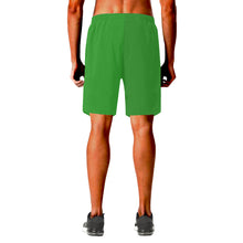 Load image into Gallery viewer, Jamaican flag Elastic Beach Shorts