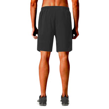 Load image into Gallery viewer, Red Black and Green Fist Elastic Beach Shorts
