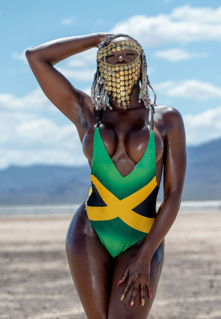 Jamaica Backless One-Piece Swimsuit