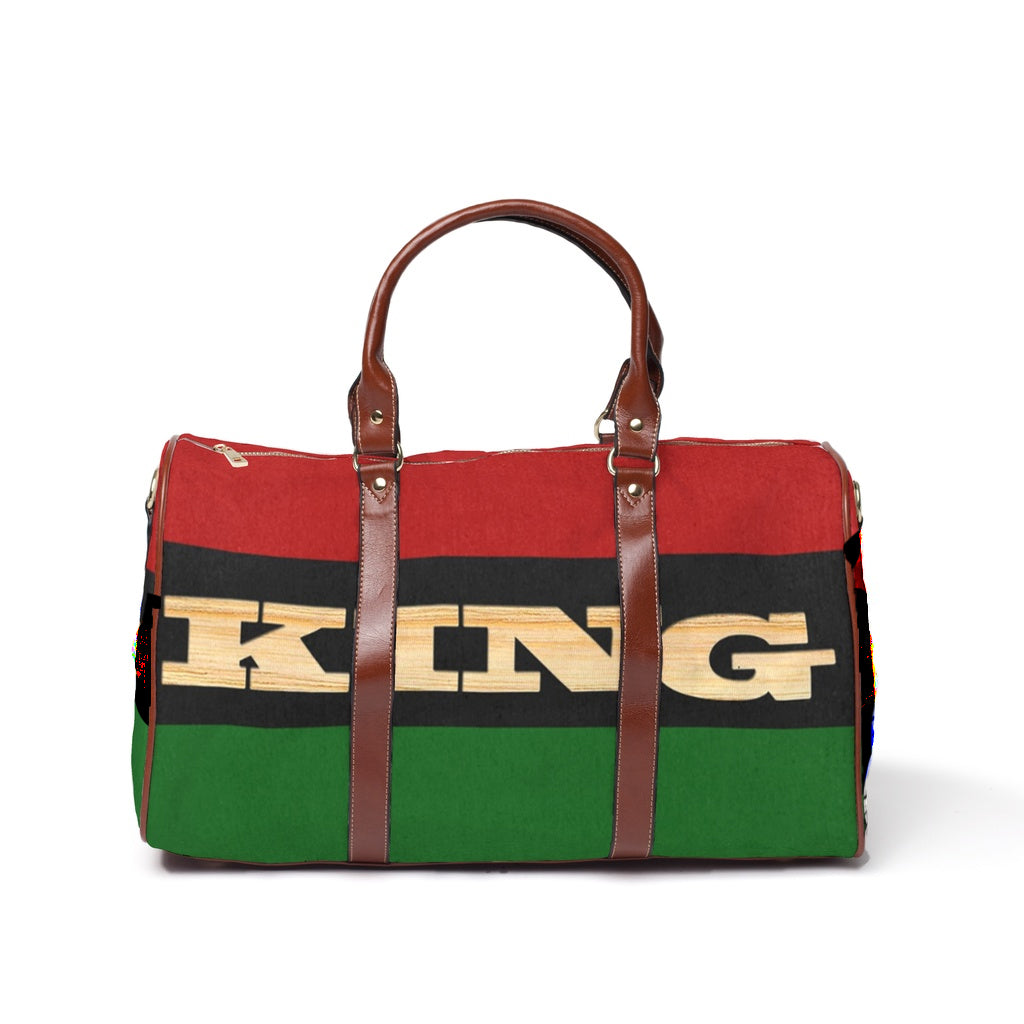 King RBG flag Waterproof Travel Bag/Large
