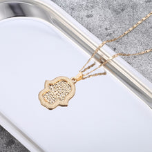 Load image into Gallery viewer, Hamsa Pendant Necklace Sets - Kingdom of Melanin