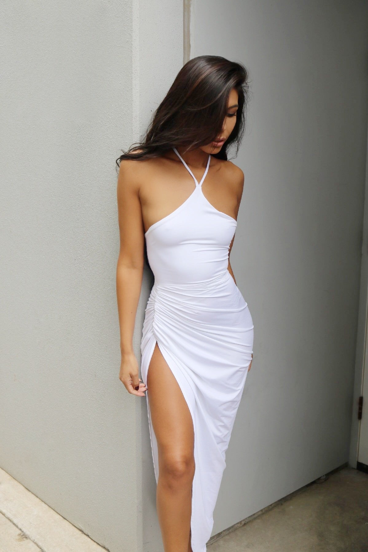 LARA GOWN - WHITE