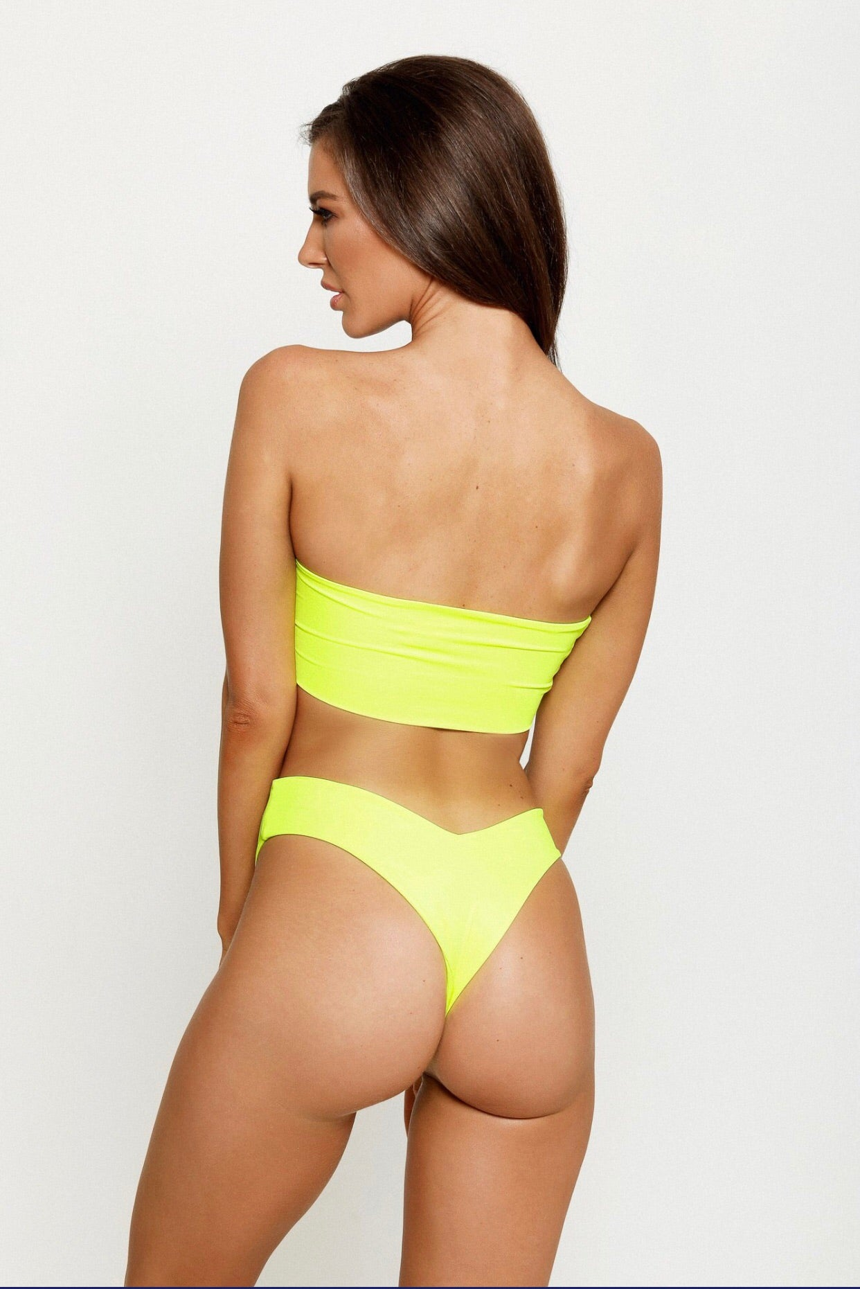 ASHANTI G BOTTOMS - NEON YELLOW