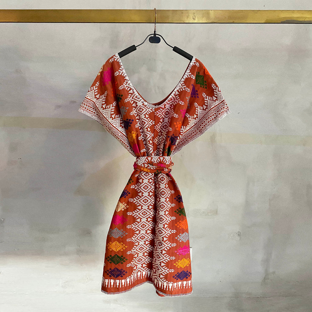 The Songket Kaftan 03  Dress