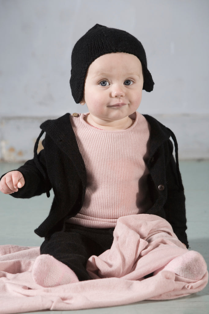 Mid-weight Cashmere Tracksuit  Baby clothing
