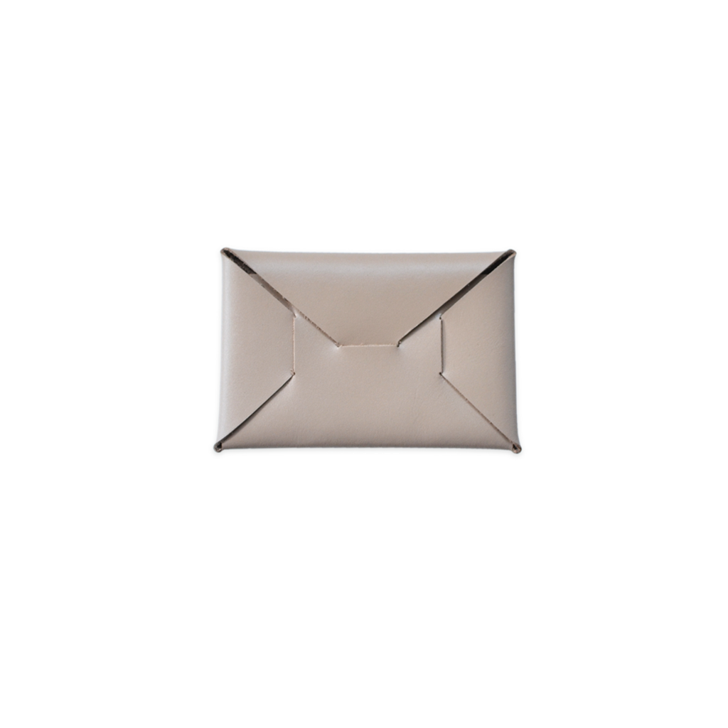 Katsunori ALBA Leather Business Card Holder