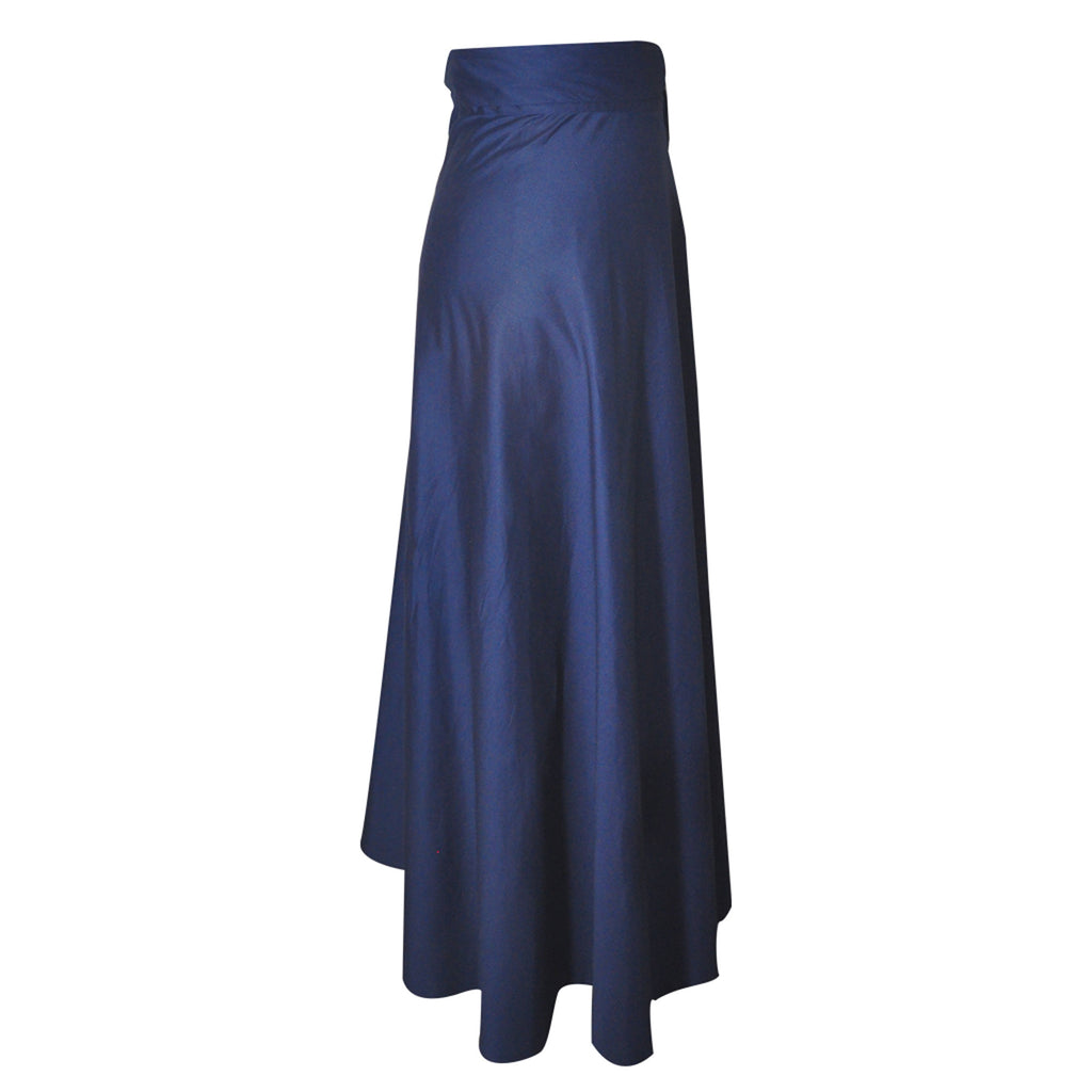 China Wrap Skirt - navy