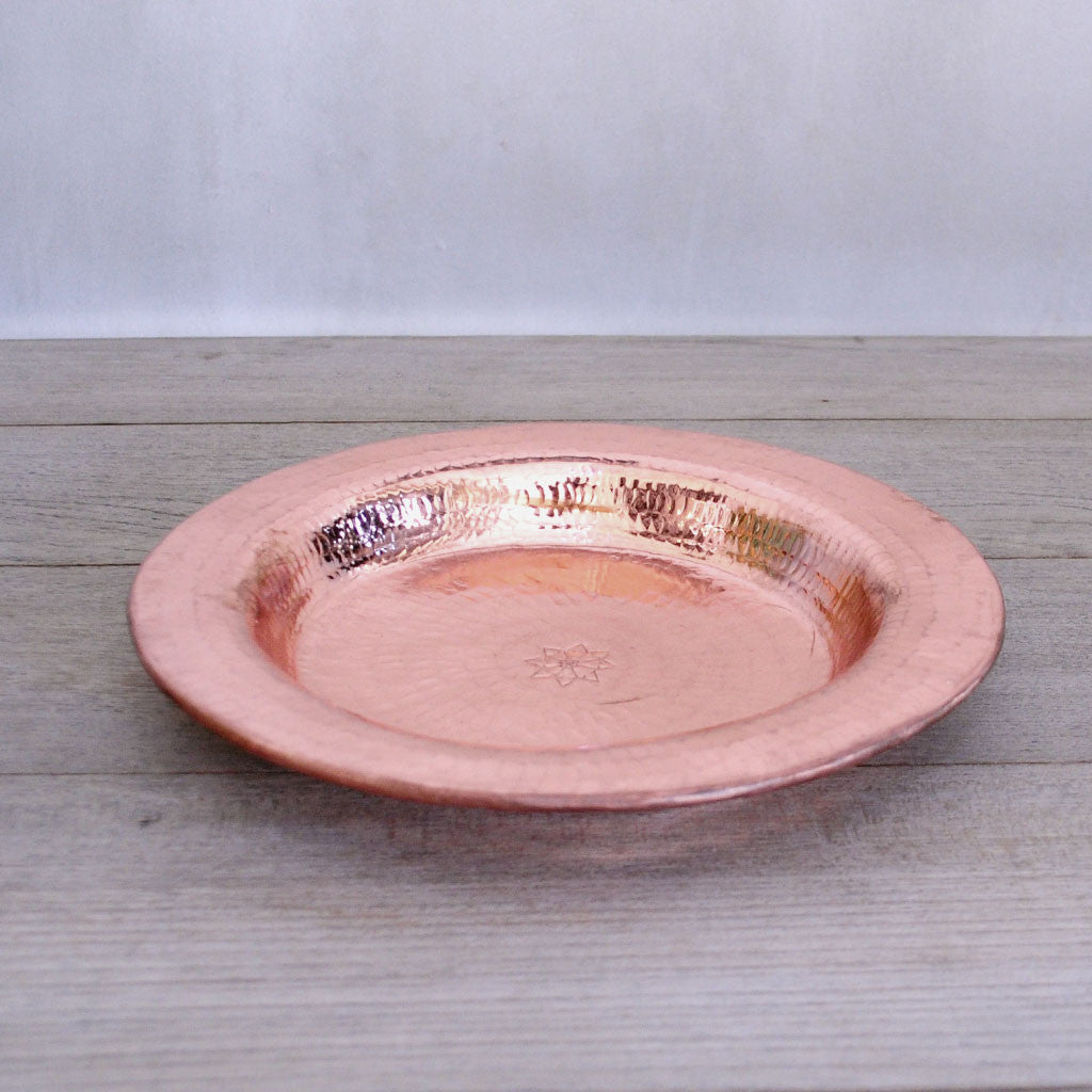 Pure Copper Plate (Set of 4)