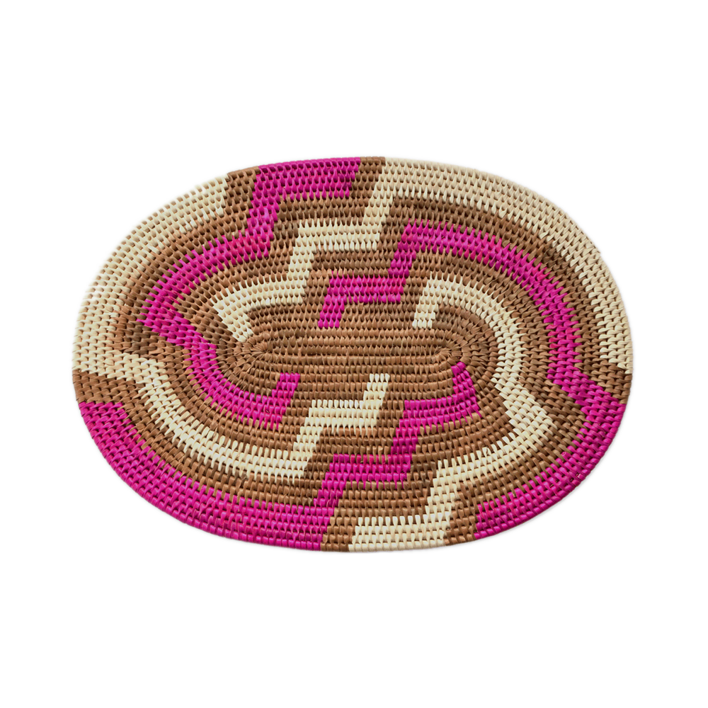 Handwoven Banana Palm Placemat