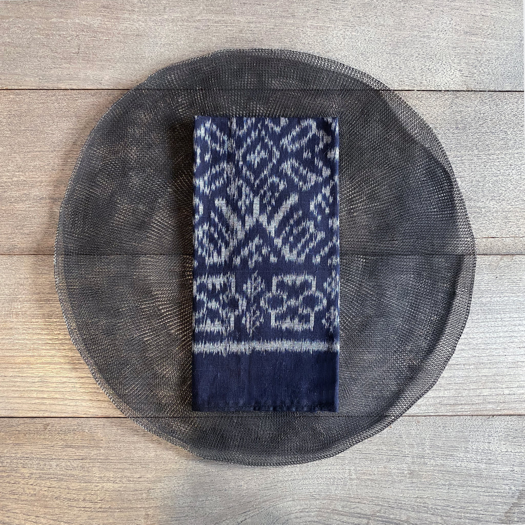 Ikat Napkins - Midnight (set of 8)  napkin