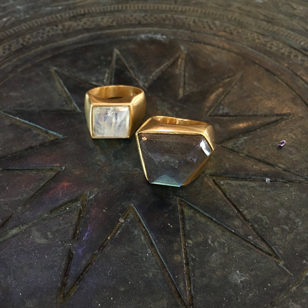 Labradorite Ring  Jewellery