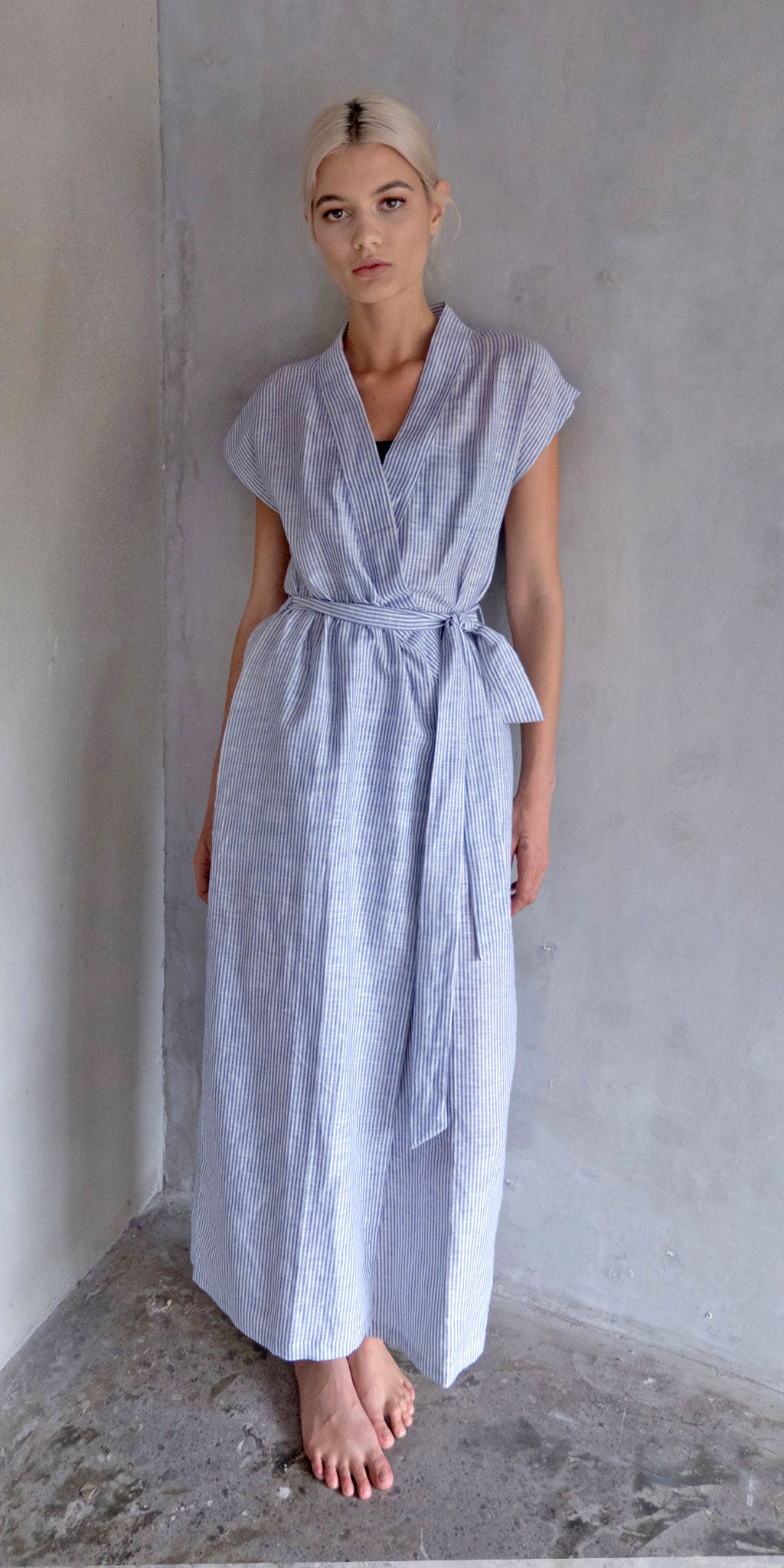Chen Dress - Pale Blue