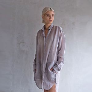 Yeoh Shirt Dress - Coffee
