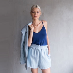 Lucian Shorts - Pale Blue