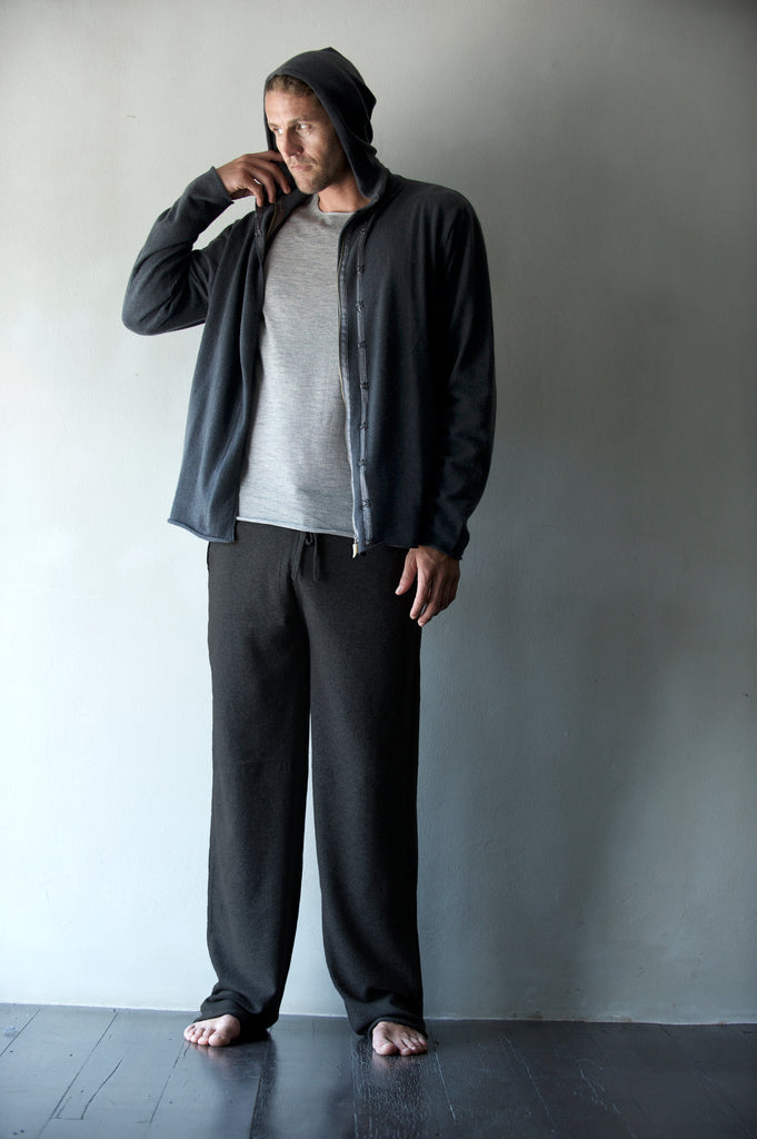 Mid-Weight Cashmere Track Pants  Mens Clothing