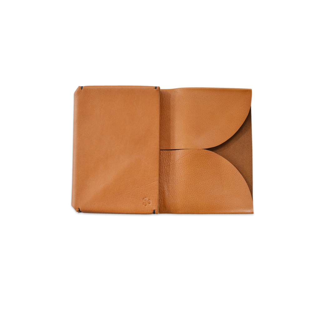 Katsunori ORIGAMI Leather Passport Wallet - Large