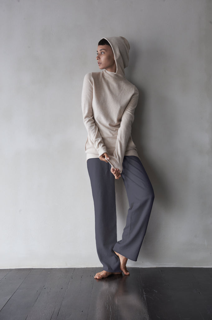 Mid-Weight Cashmere Track Pants  Women's Clothing